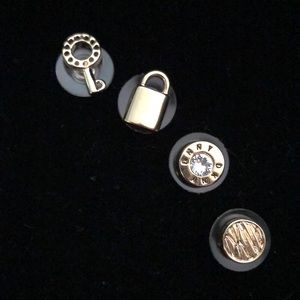 DKNY set of 2 earrings.